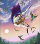 Flying fish by TamonteN