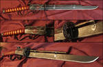 Steampunk sword: Ibaraki-