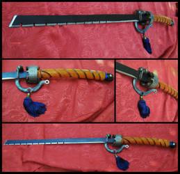 Steampunk sword: Zuijin -