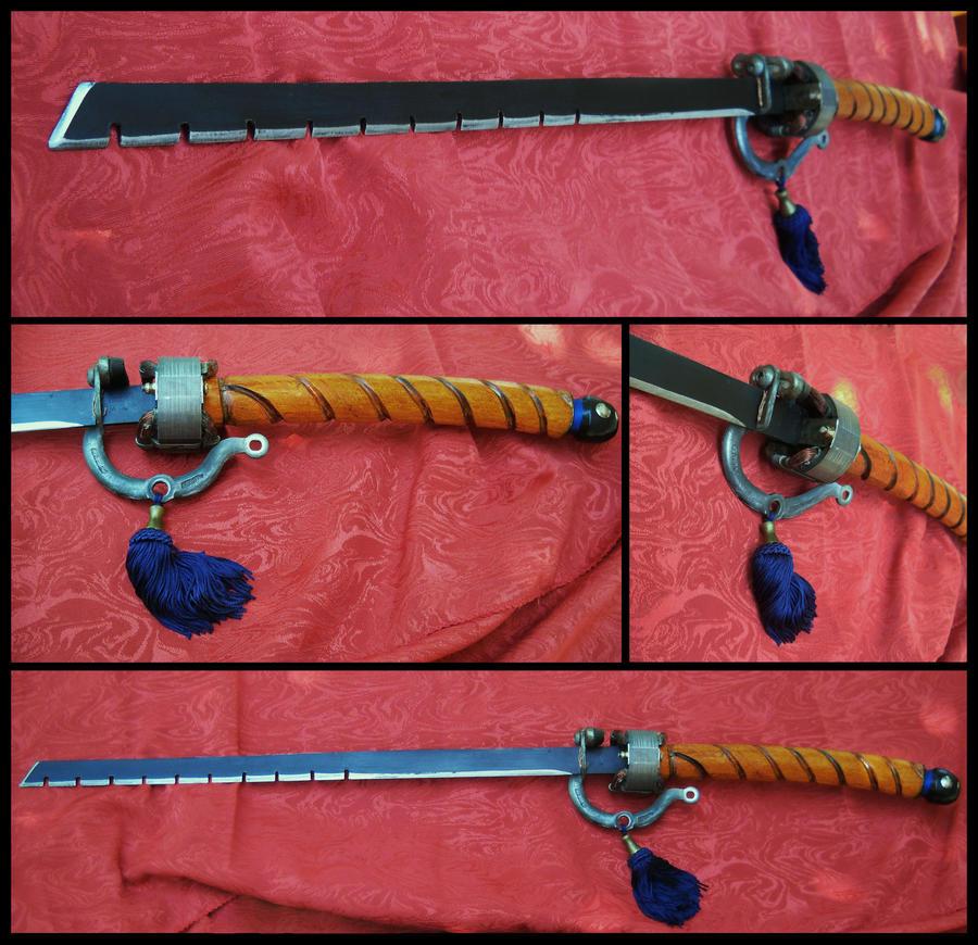 Steampunk sword: Zuijin - by TamonteN