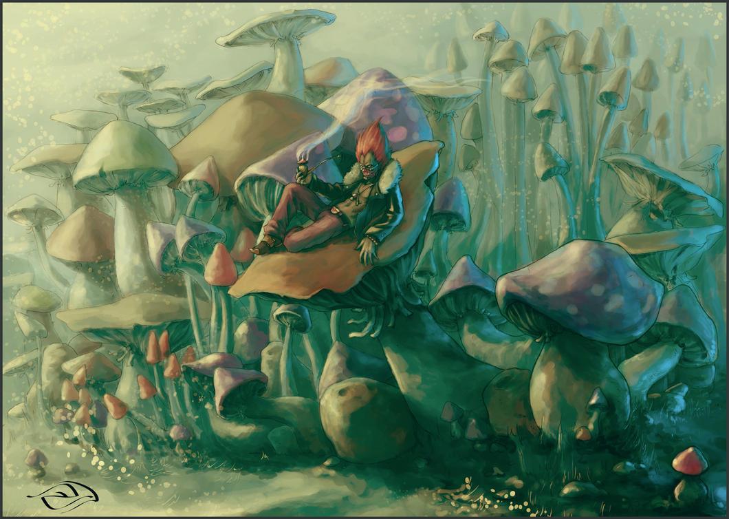 En Mushroom- by TamonteN