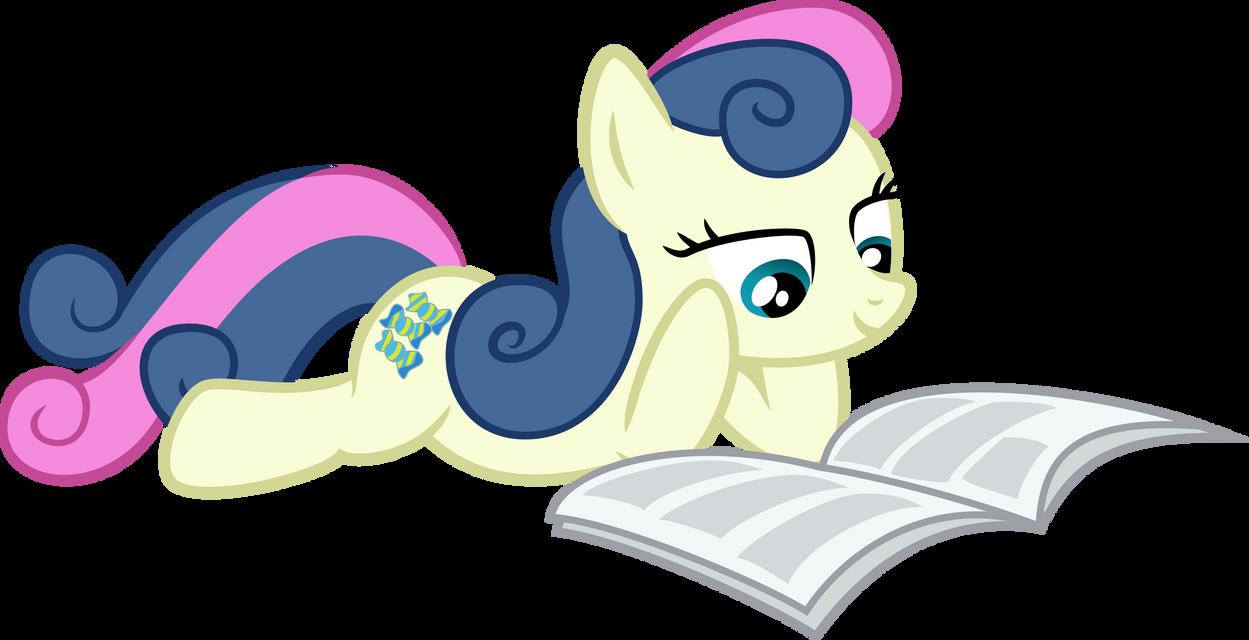 Bon-Bon reading Gabby Gums' by MuffinName