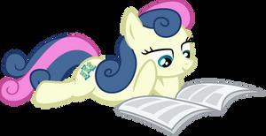 Bon-Bon reading Gabby Gums'