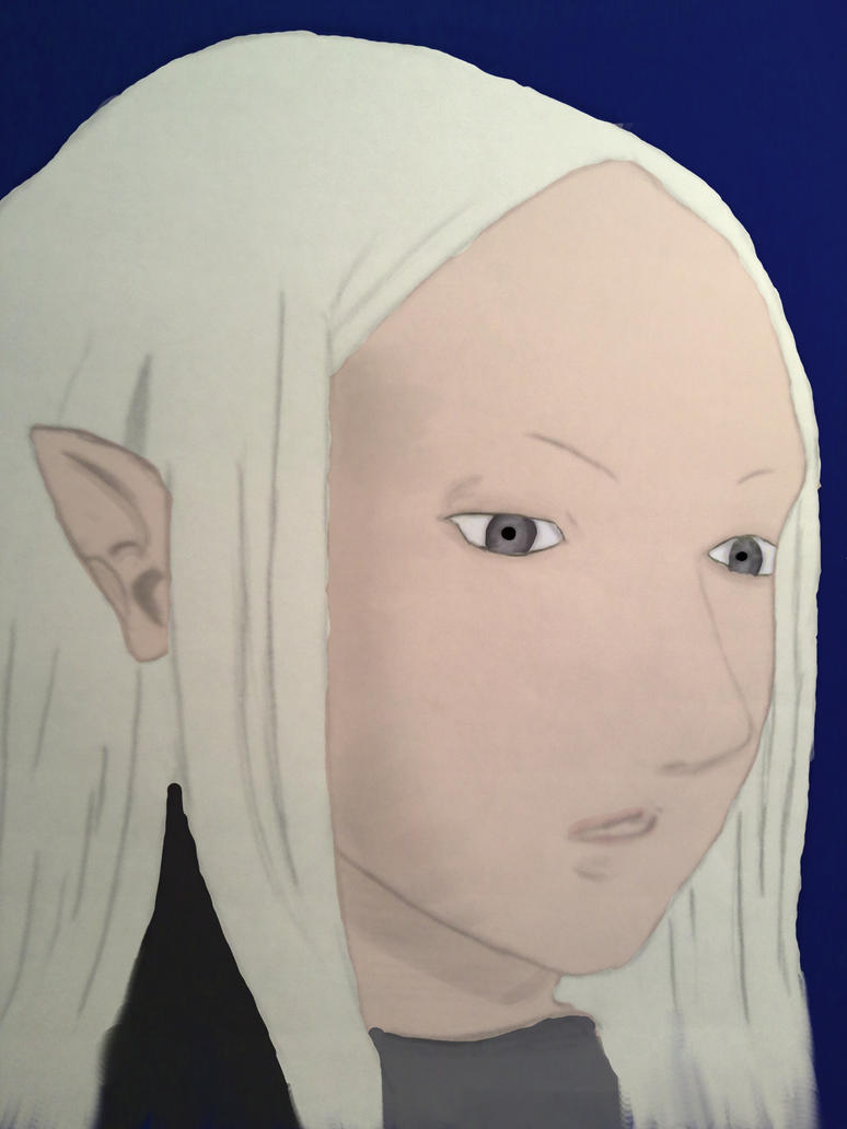 Claymore Irene Colored by Yleyna