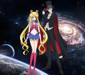 Sailor Moon x Tuxedo Mask/Usagi x Mamoru