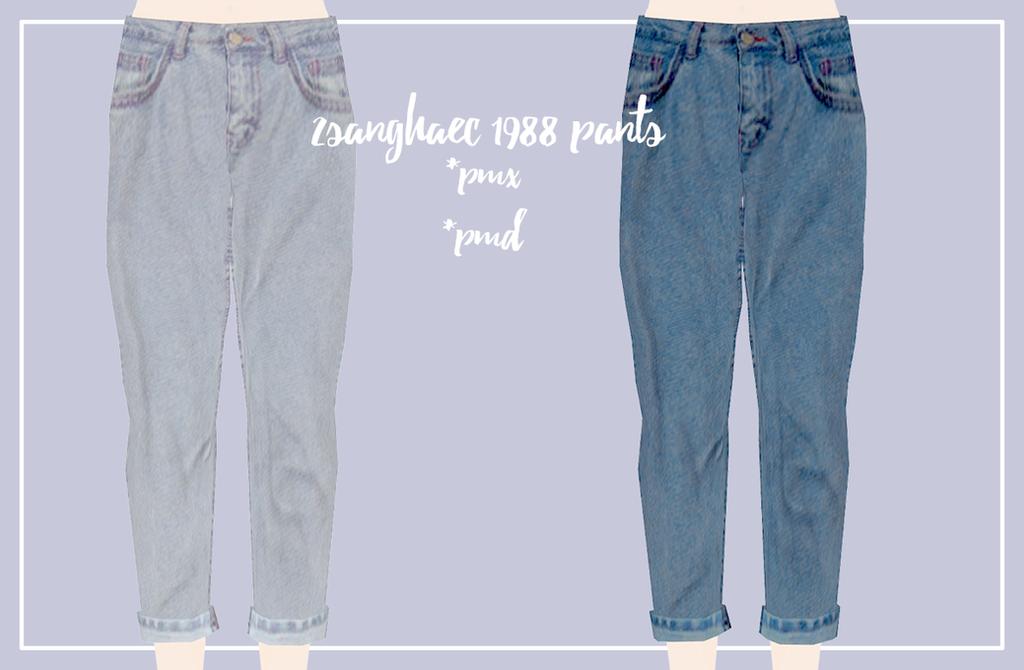 1988 Pants by Mari-Ichi