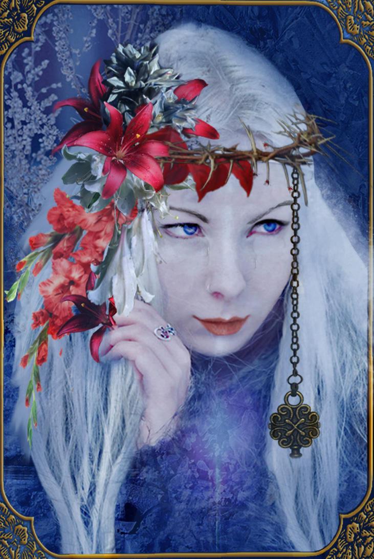 I will cherish my pain like flowers.. by Samsiara