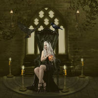 Gothic Tanit Isis by Samsiara