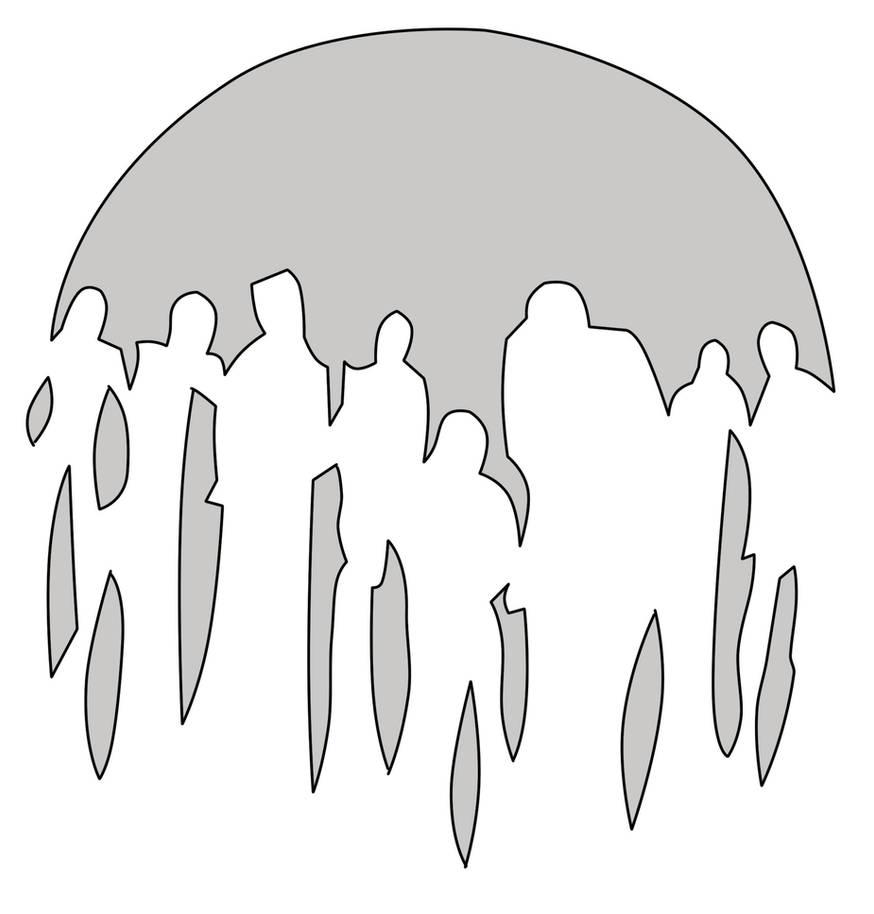 Zombie Stencil by thegoatking