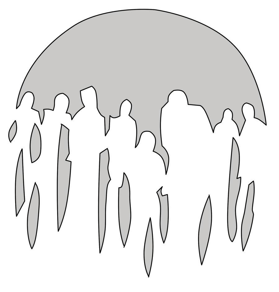 Zombie stencil by thegoatking on deviantart