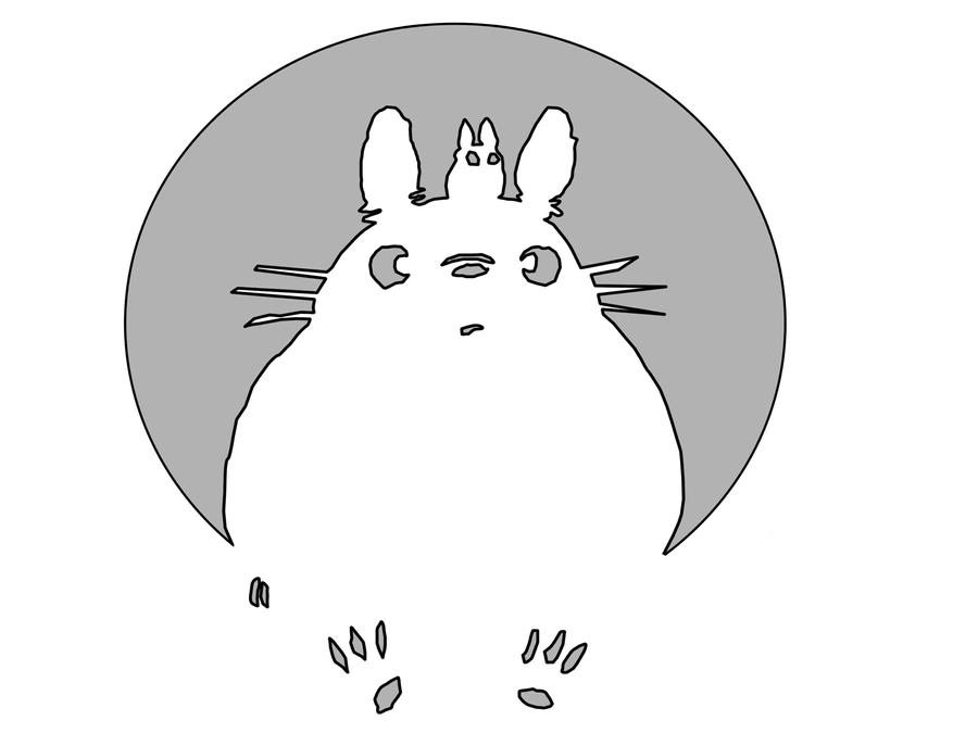 Totoro pumpkin by thegoatking on deviantart
