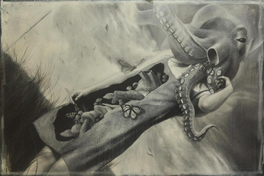 rene magritte tribute by harlequindrinkscoke