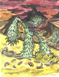 Mad Crazy Cactus by swauger