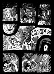 Mr. Creamy vs. Mimi the Mime 10 by swauger