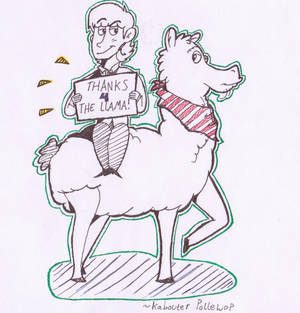 Thanks For The Llama! (With George)
