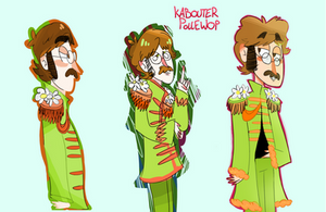Sgt.Pepper John's Lonely Hearts club Band
