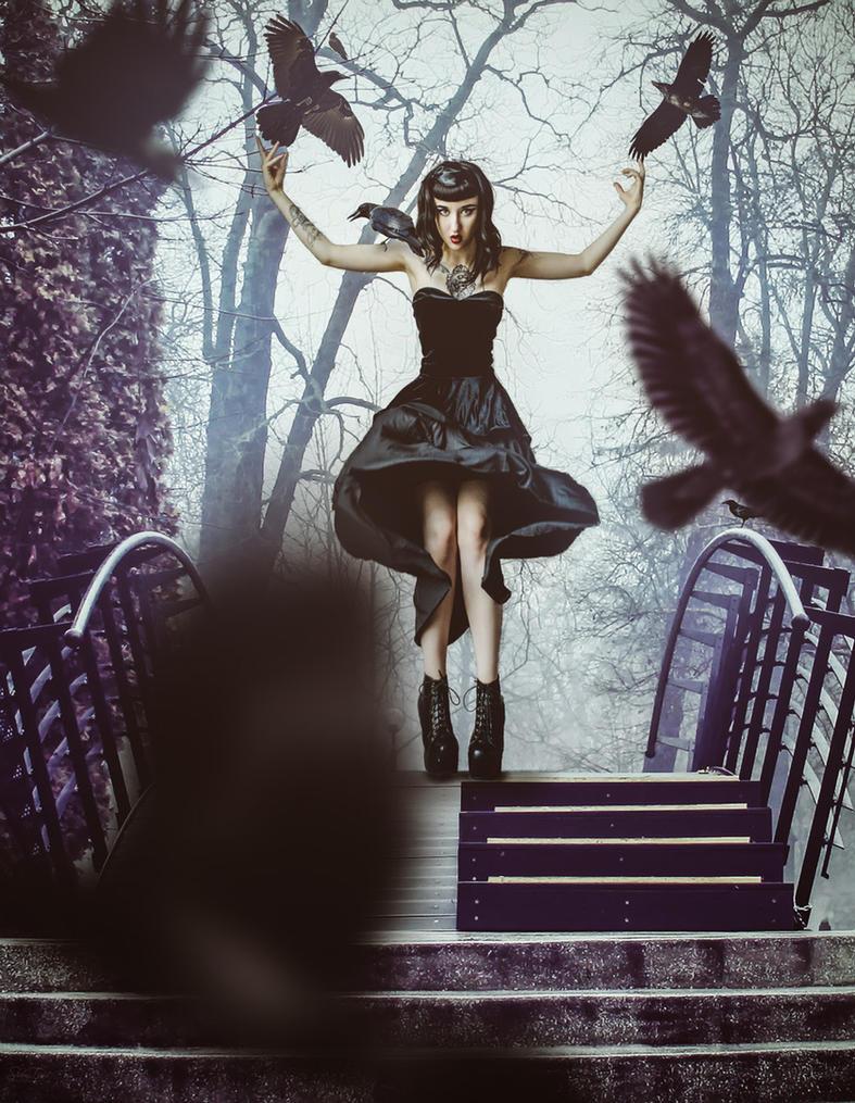 Little Black Riding Hood by shauntiamodel