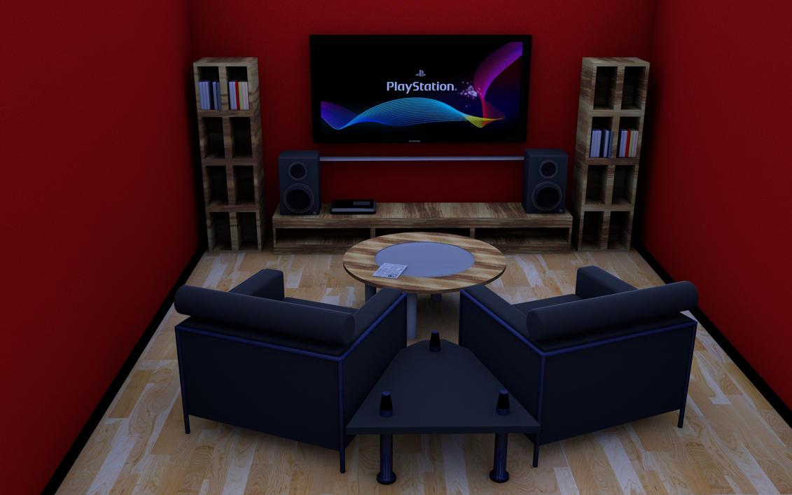 c4d raum bauen 2 by cypata on deviantart. Black Bedroom Furniture Sets. Home Design Ideas