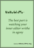 NaNoWriMo - Poster III by Pianochick66