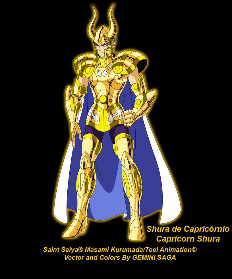Capricorn Shura By Geminisaga06 On DeviantArt