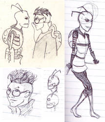 More ZADR doodles by RubyQuinn
