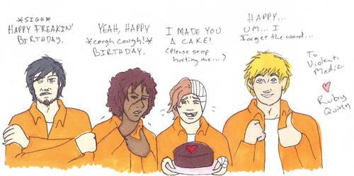 Happy Birthday Violent-Medic by RubyQuinn