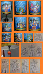 Dragonball Z Lamp