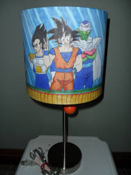 DBZ Lamp- full view