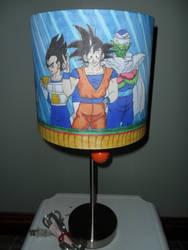 DBZ Lamp- full view
