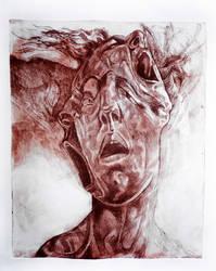 Ancestor's scream by WerewolfPredator