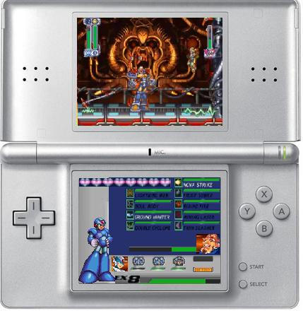 Megaman X Ds By Champs2 On Deviantart