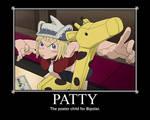 Patty Motivational Poster