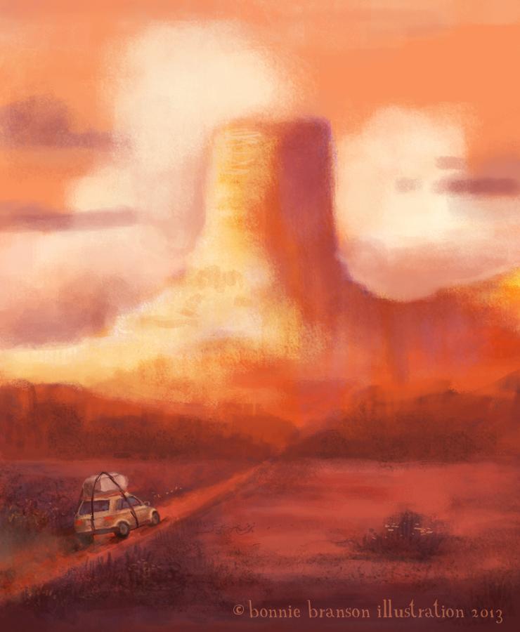 Illustration Friday: Travel by elara-elara