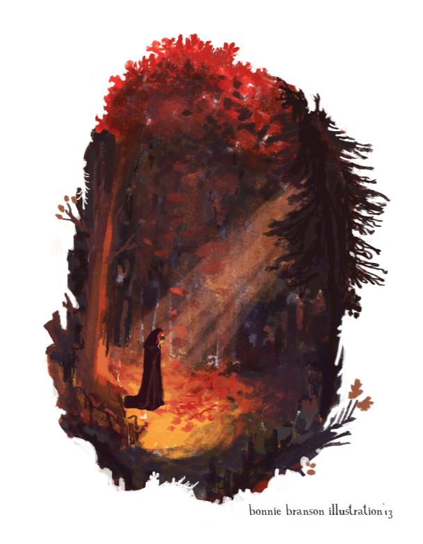 Illustration Friday: Secret by elara-elara