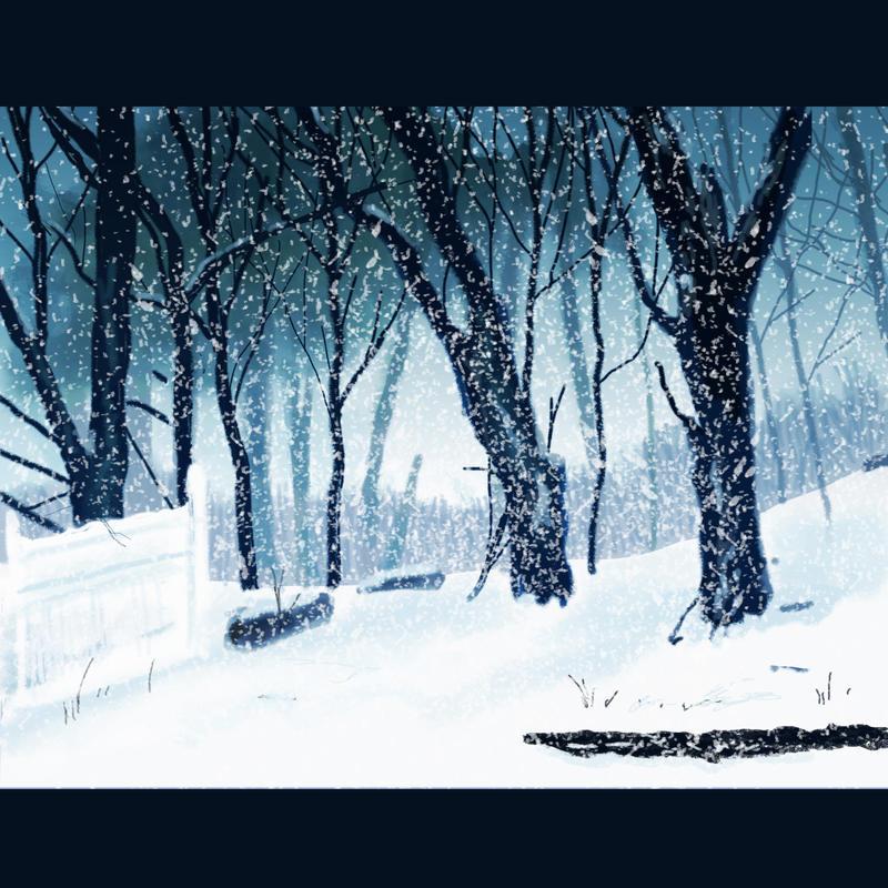 It was a snowy day by elara-elara