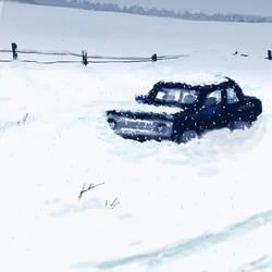 Blizzard car by elara-elara