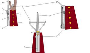 Realistic Hidden Blade Design Idea