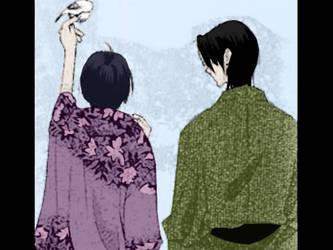 Shigure x Akito by Eumhye