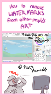 Tutorial - How To Remove Watermarks
