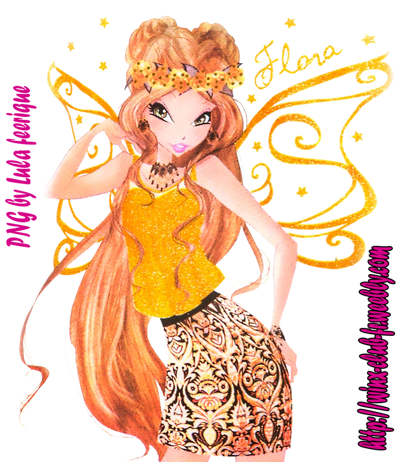 Flora Sweet Glam style 2 with name and stars by FashionZambara