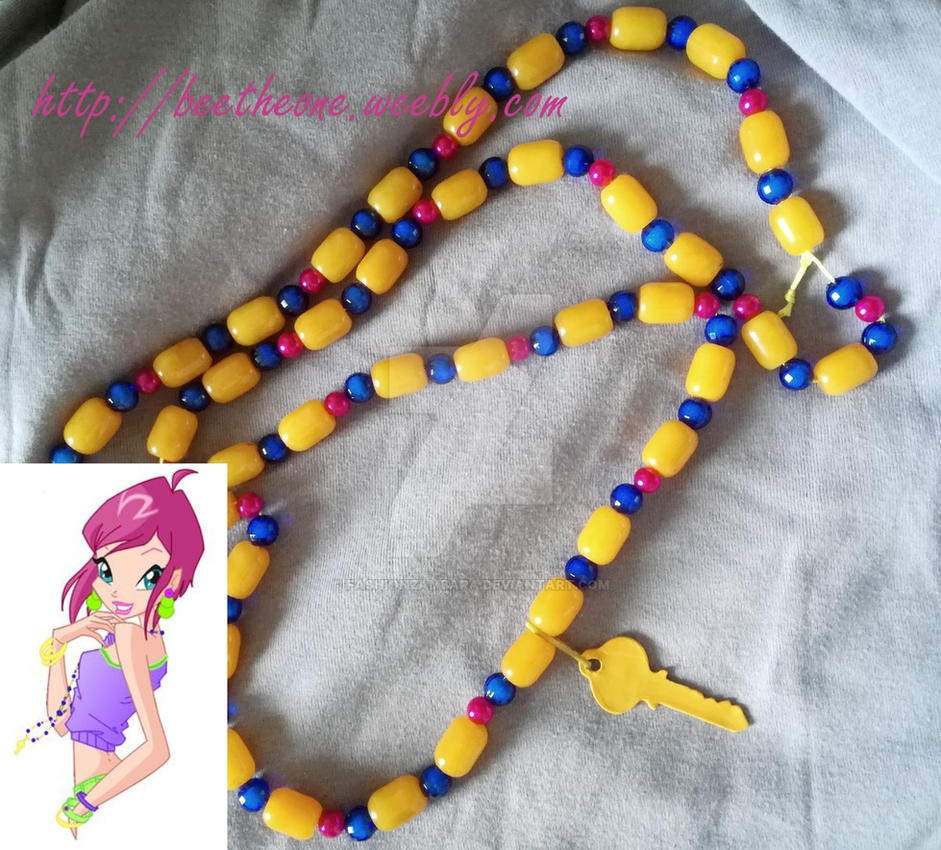 Collier Trendy Tecna Winx Club 5 by FashionZambara