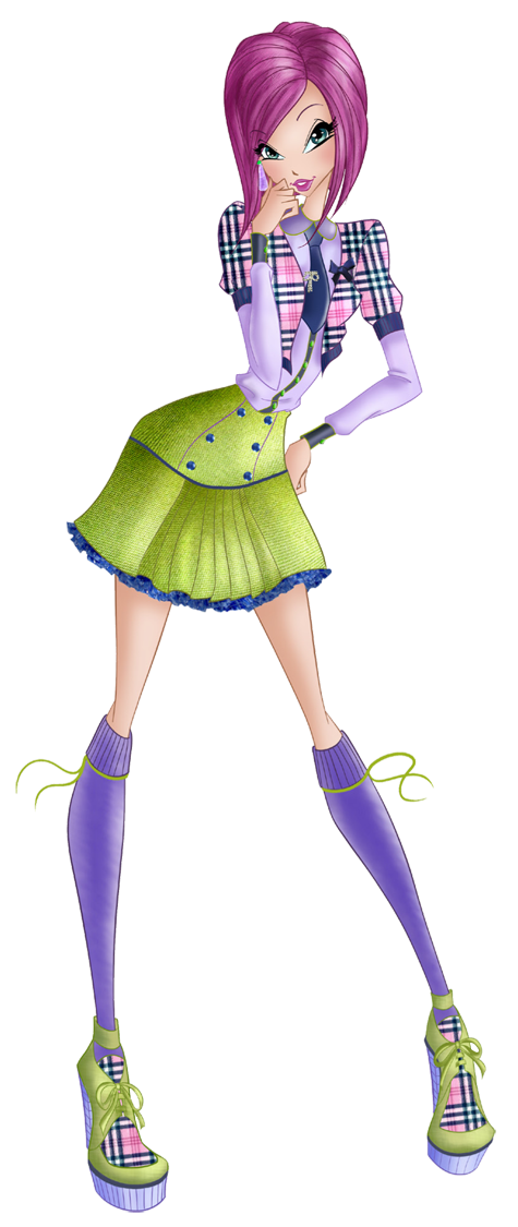 Tecna Preppy - Winx Club 7 by FashionZambara