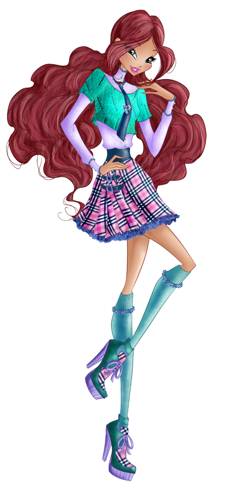 Layla Preppy - Winx Club 7 by FashionZambara