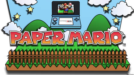 Paper Mario for 3DS Wallpaper