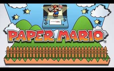 Paper Mario 3DS - Wall