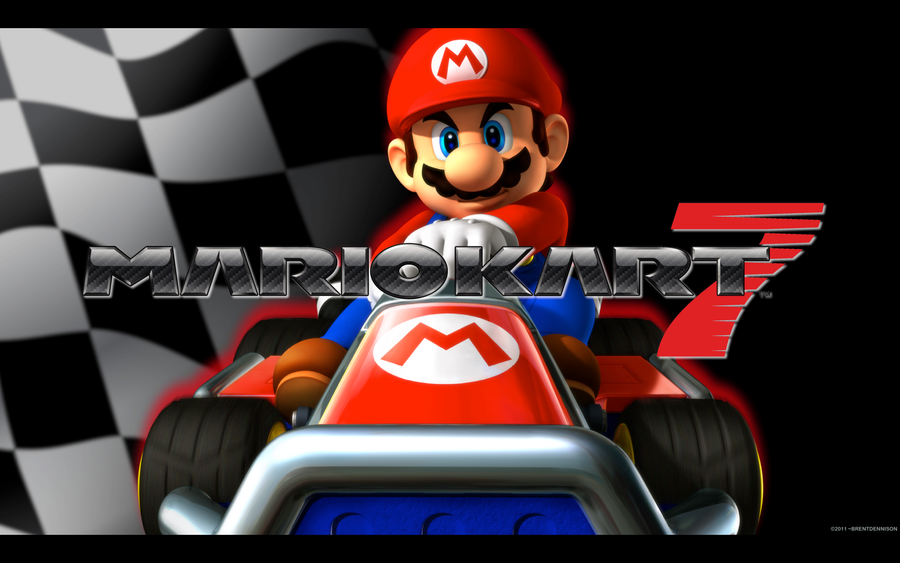 Mario Kart 7 - Wall by BrentDennison