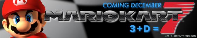 Mario Kart 7 - Sig by BrentDennison
