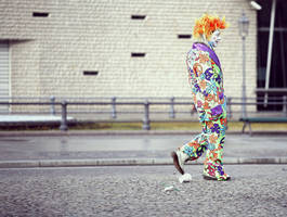 Clown by kajali