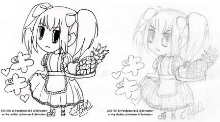 TM Com.: Kiki for Pandabear365 by chadias