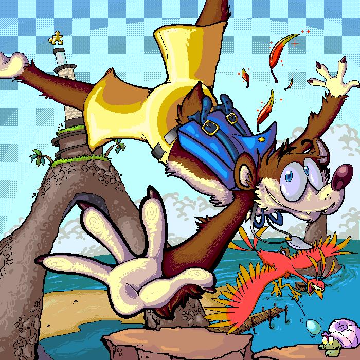 Banjo-Kazooie - BK - Point by PaperBandicoot on DeviantArt